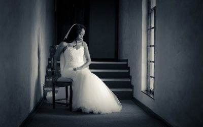 Window light bride