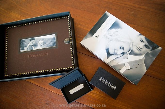 Wedding albums and packaging