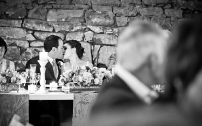 Reception kiss