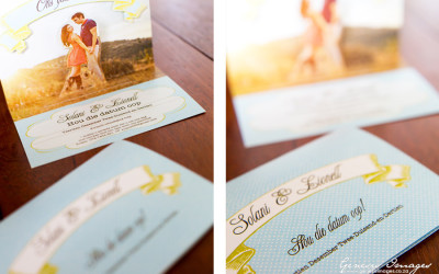 Pop-up save-the-date