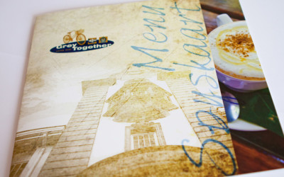 Grey Together coffee shop menu 2012