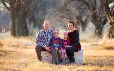 Family shoot winter